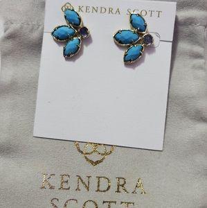 Kendra Scott Turquoise Carmen Earrings